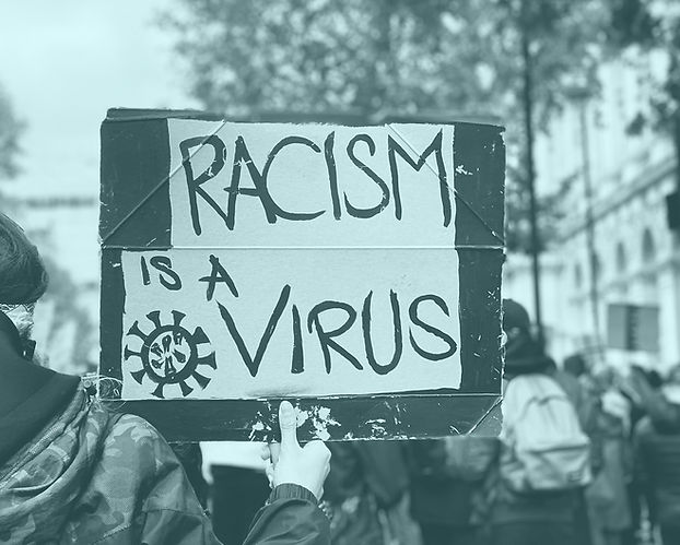 Racism is a virus.
