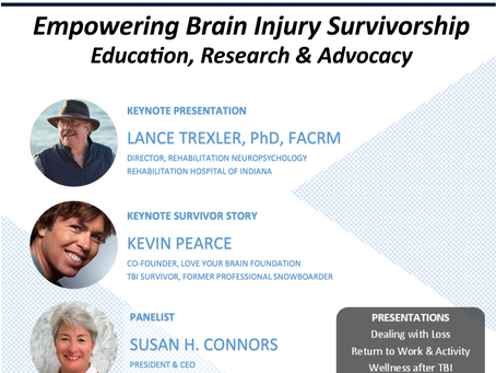 2021's TBI SUMMIT... EMPOWERING BRAIN INJURY SURVIVORSHIP: EDUCATION, RESEARCH & ADVOCACY
