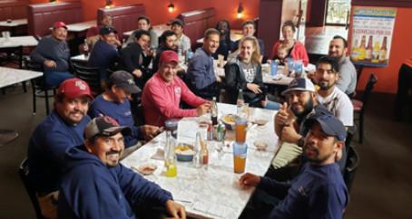 M.J. Staff  Celebrates Cinco De Mayo