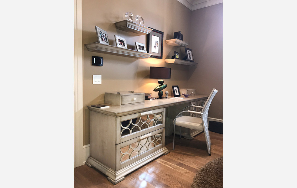 Custom Desk Design, Snider Metcalf Interior Design