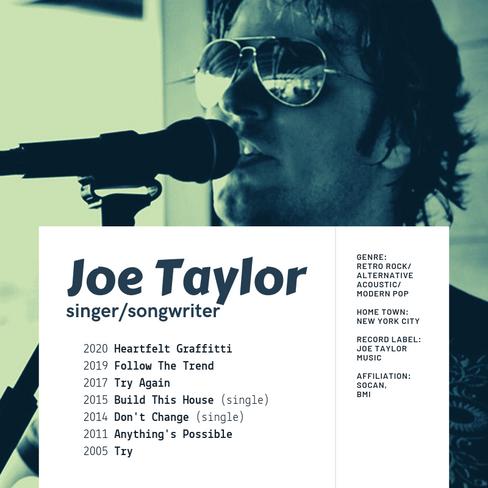 Joe Taylor Discography