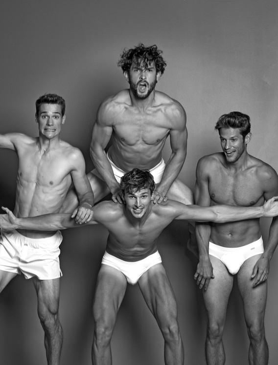 fashion, boys, jungs, men, underwear, meanwear, black and white photography, fun, boys gang, vlado golub photography, Vlado Golub Fotografie