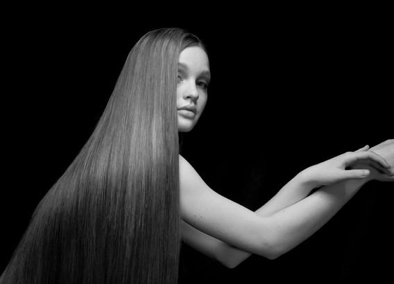 Hair & Beauty; All about Hair; Red Hair Black & White; Vlado Golub Fotografie