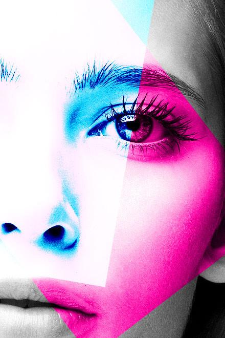 beauty, beauty photography, black and white, color, pink, gif, greta, vlado golub photography, Vlado Golub Fotografie