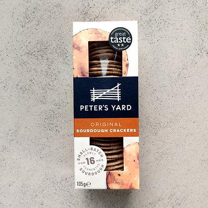 Peter's Yard Original Sourdough Crackers- 105G