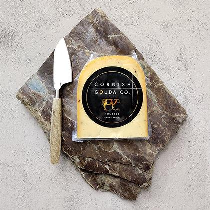Cornish Gouda with Black Truffles - 250g