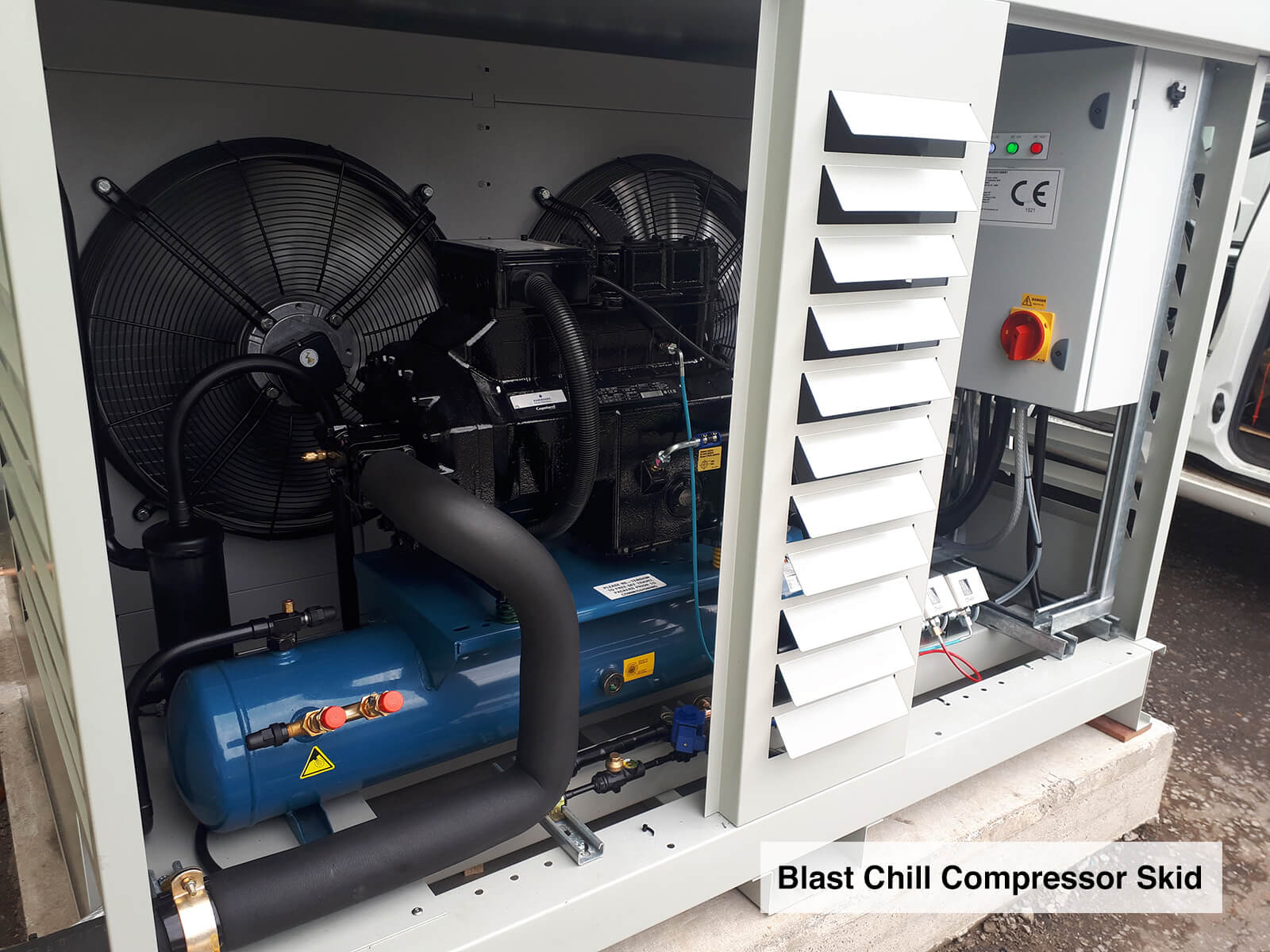Blast-Chill-Compressor-Skid