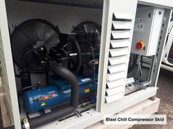 Blast-Chill-Compressor-Skid