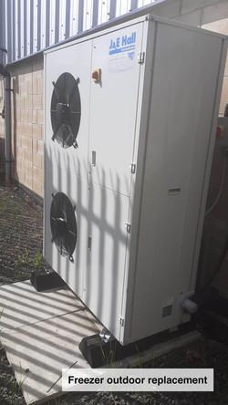 Freezer outdoor replacement