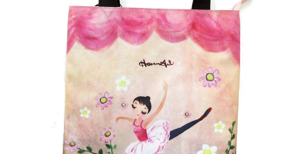 Ballerina - Casual Tote bag (water proof coated canvas)