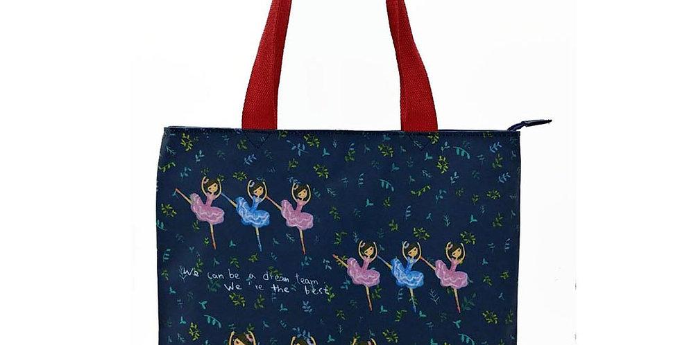 Let's Dance Ballet printing Long Tote Bag