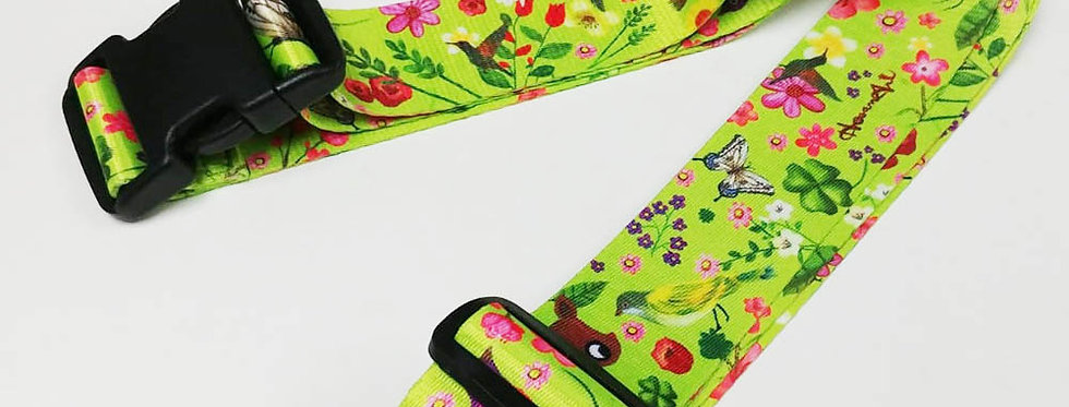 Cute Animal Unique and colorful patterns luggage strap