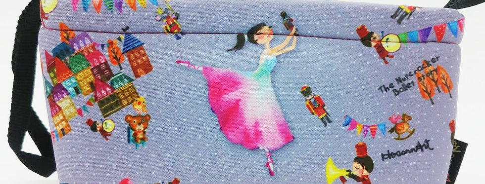 The nutcracker ballerina illustration Cosmetic Bag