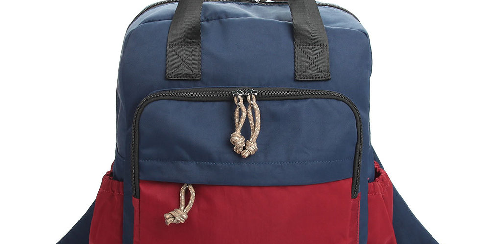 Big Square shape causal backpack