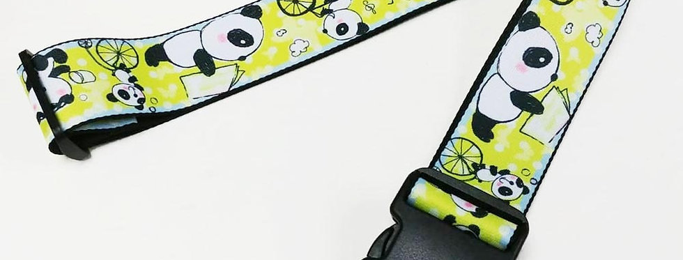 little pandas Unique and colorful patterns luggage strap