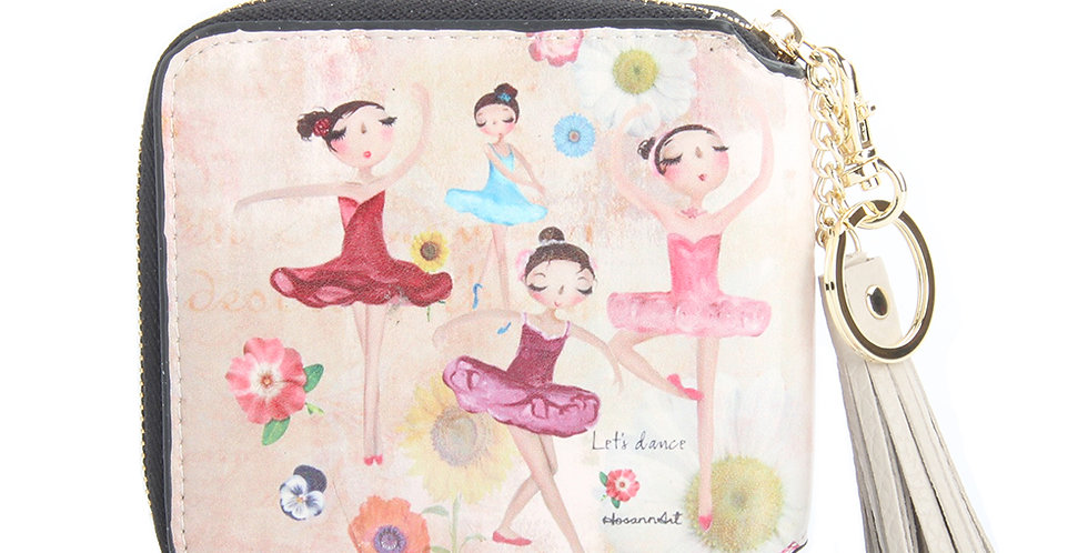 My dance team wallet