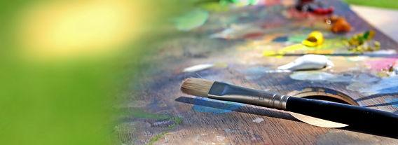 Miriam Mas Oil Painting Brush Pallette Commission Artwork