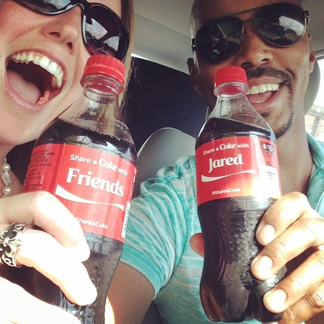 Coke and a smile with a friend _wiggywiggywhatwhat