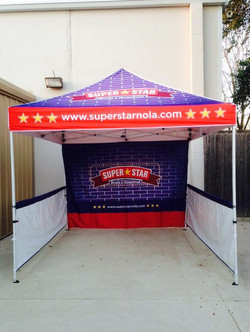 Branded Outdoor Tent