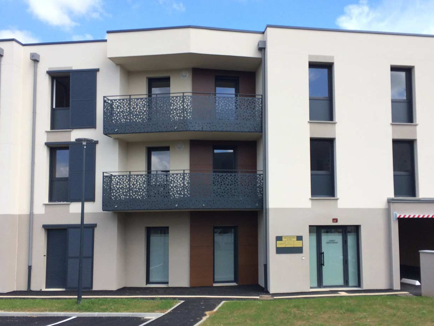 Vue de la façade - logements a Luisant
