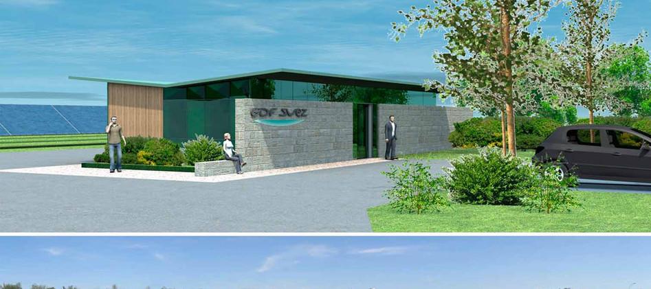 Centrale photovoltaïque pour GDF Suez - La Chapelle du Noyer
