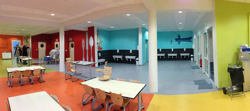 Restaurant scolaire - Aunay-sous-Auneau