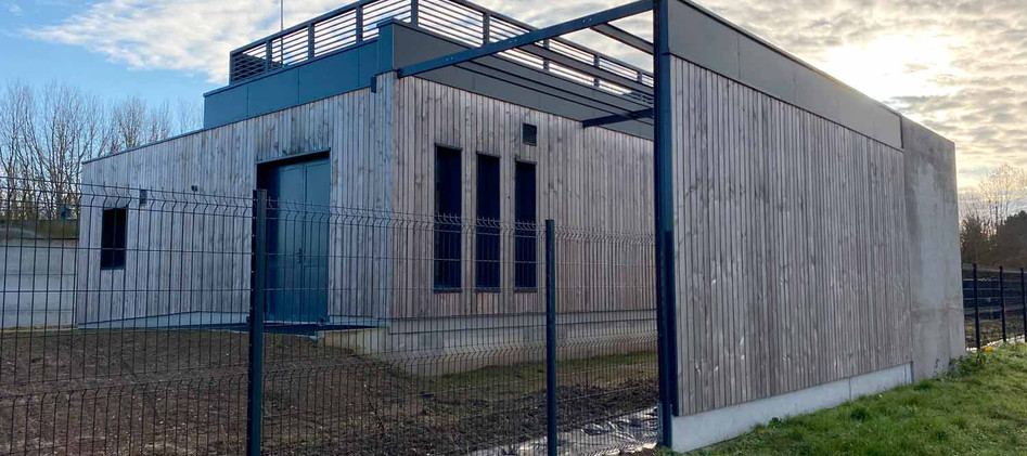 Station d'épuration - Anet