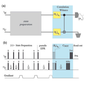 @PRL Witnessing the quantumness of correlations in NMR systems