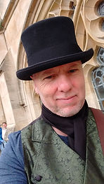 Mr Elliott, head guide for Bath Regency Walking Tours