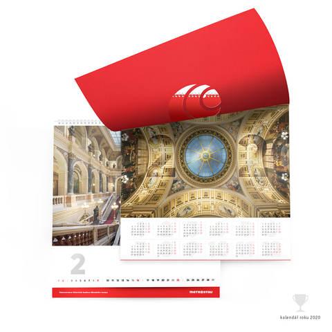 Kalendář nástěnný – Metrostav