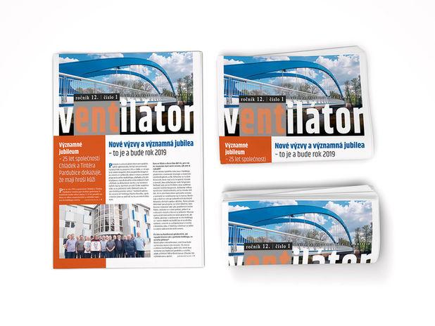 Firemní časopis | noviny