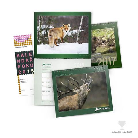 Kalednář nástěnný – Maresch