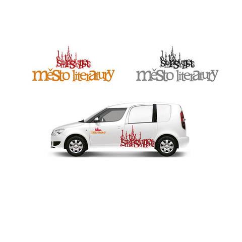 Logo – Město Literatury