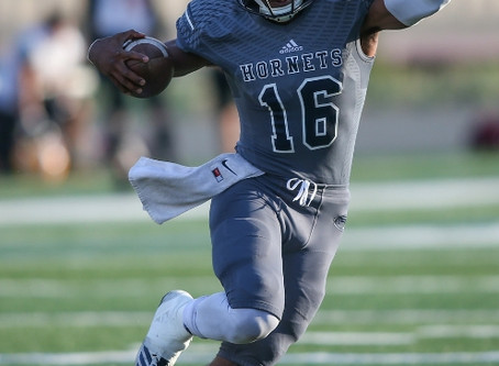 LaDarius Drevon Skelton, Co-Offensive MVP for the Fullerton College Hornets