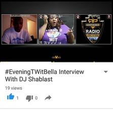 #EveningTWitBella Interview With DJ Shablast