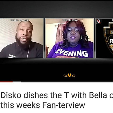 Disko dishes the T with Bella on this weeks Fan-terview