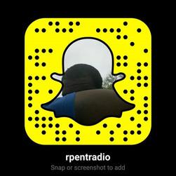 #RPEntRadio Snapchat