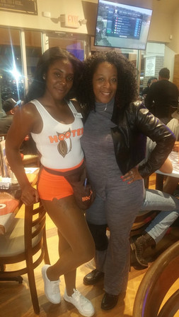 Ms. Shann & Hooters Girl