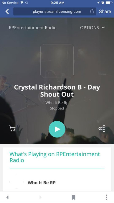 #RPEntRadio #BDAY #ShoutOut