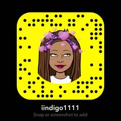Lovely Iindigo's SnapCode