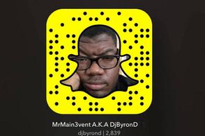 DJ Byron D Snapchat