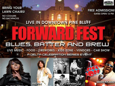Pine Bluff's Forward Fest: Blues Better and Brew ft. Angie Stone