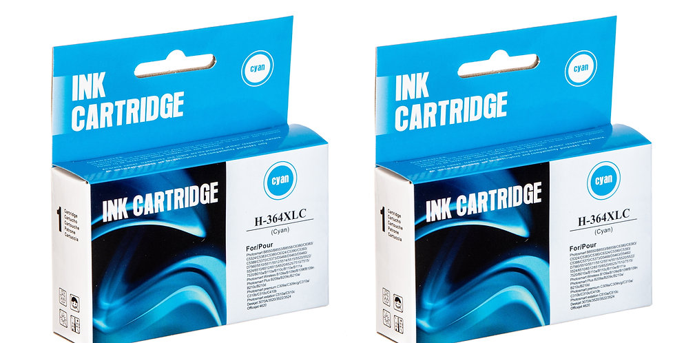 Compatible HP 364XL Cyan Ink Cartridge