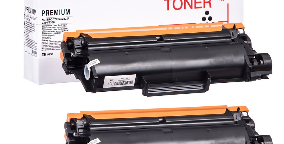 Compatible Brother TN2320 Multipack