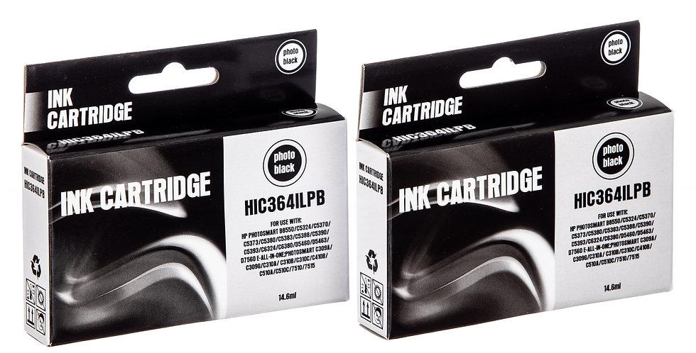 Compatible HP 364XL Photo Black Ink Cartridge