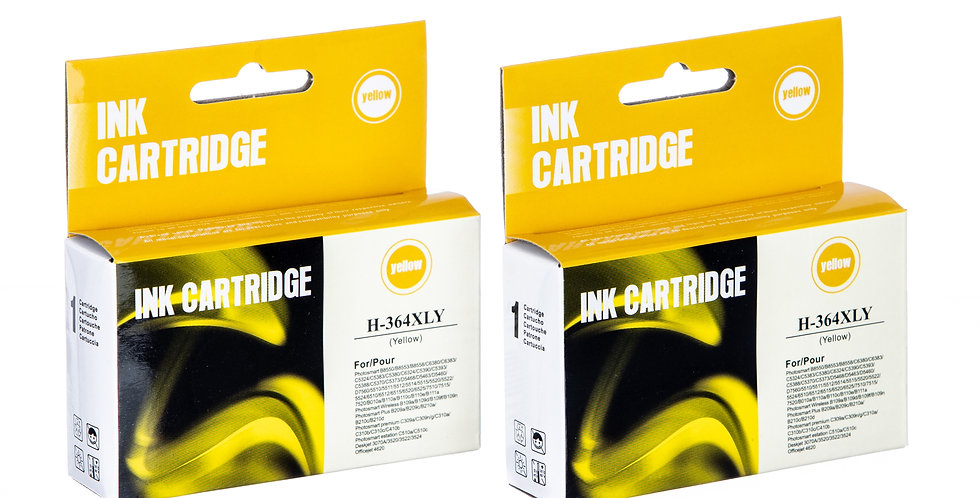 Compatible HP 364XL Yellow Ink Cartridge
