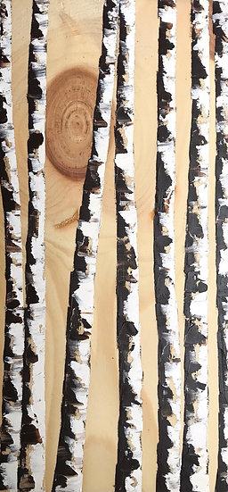 Birch with Woodgrain
