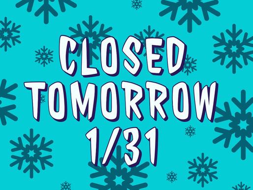 Closed 1/31