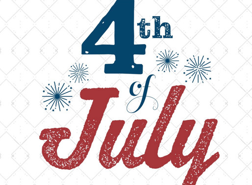 Closed 4th of July!