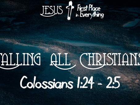 Calling All Christians